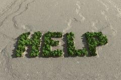 Crise écologique Image libre de droits