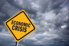 Crise économique illustration de vecteur