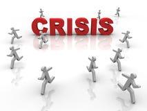 Crise Imagem de Stock
