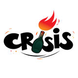 crise Fotografia de Stock
