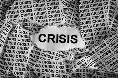 crise Images libres de droits