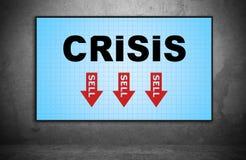 crise Photographie stock libre de droits