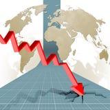 Crise Fotografia de Stock Royalty Free