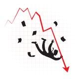 Crise Foto de Stock
