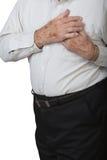 Crise cardiaque Photos libres de droits