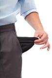 Crise d'argent Image stock