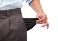 Crise d'argent Images stock