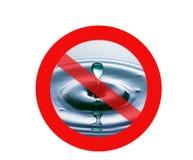 Crise d'eau Photo libre de droits