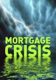 Crise d'hypothèque Image libre de droits