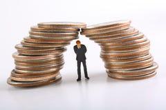 crise de concept financière photo stock