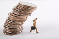 crise de concept financière Photographie stock libre de droits