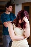Crise de couples Image libre de droits