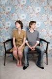 Crise de couples Image stock