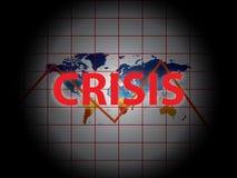 Crise de Gobal illustration libre de droits