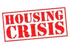 Crise de logement Photographie stock libre de droits