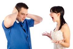 Crise de nerfs Image libre de droits