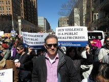 Crise de violence armée Images libres de droits