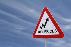 Crise do combustível fotos de stock