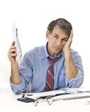 Crise do crédito Imagem de Stock Royalty Free