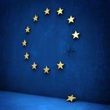 Crise do Euro Fotografia de Stock