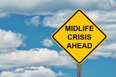 Crise do Midlife adiante Foto de Stock Royalty Free