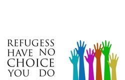 Crise do refugiado de Europa Fotos de Stock Royalty Free