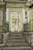 Crise dos bens imobiliários Fotografia de Stock