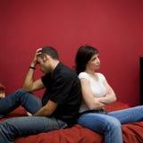 Crise dos pares Foto de Stock