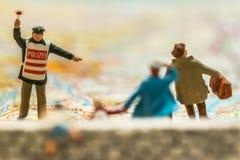 Crise du réfugié de l'Europe Photos libres de droits