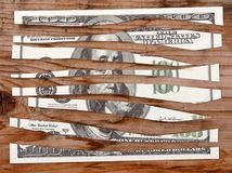 Crise económica Foto de Stock