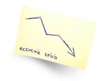 Crise económica Imagens de Stock Royalty Free