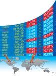 Crise económica global ilustração do vetor