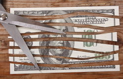 Crise económica Fotografia de Stock