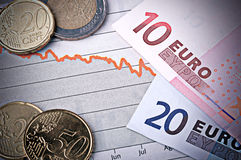 Crise financeira foto de stock royalty free