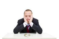 Crise financeira Imagens de Stock Royalty Free