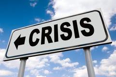 Crise financeira global Fotos de Stock Royalty Free