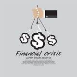 Crise financière. Images stock