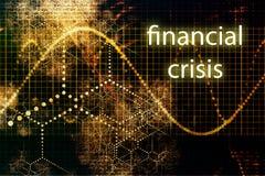 Crise financière illustration libre de droits