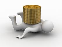 Crise financière. Photos stock