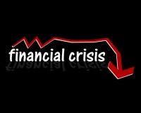 Crise financière Illustration de Vecteur