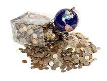 Crise financière du monde. Images libres de droits