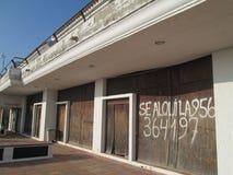 Crise financière en Espagne Photo stock