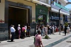 Crise financière grecque Images libres de droits