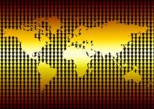 Crise global Foto de Stock Royalty Free
