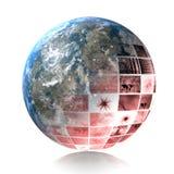 Crise global Imagem de Stock Royalty Free