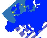 Crise grecque Images stock