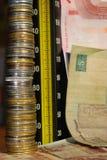 Crise monétaire Images libres de droits