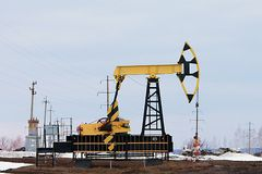 Crise na indústria petroleira foto de stock royalty free