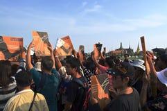 Crise politique thaïlandaise Photos stock