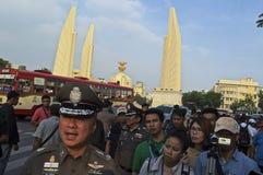 Crise politique thaïlandaise Image libre de droits